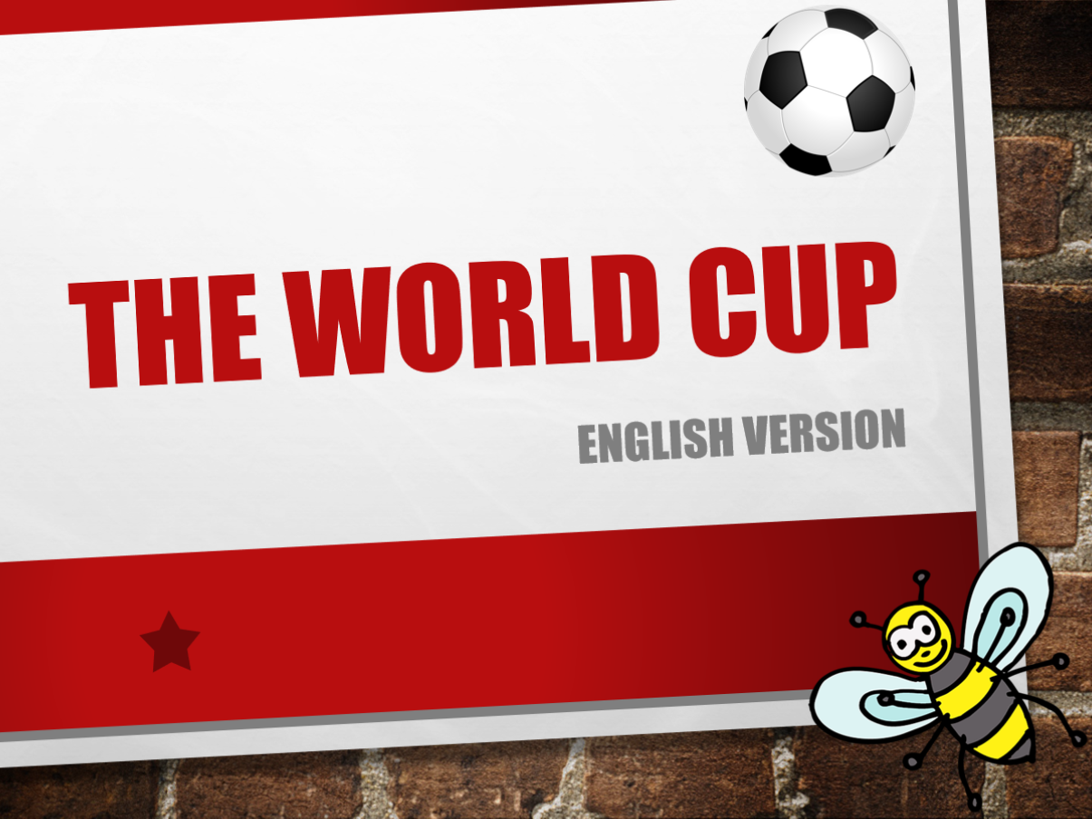 World Cup - English- bundle