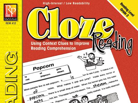 Cloze Reading (Grade 2)