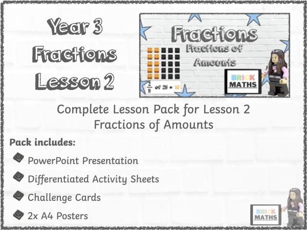Y3 Fractions Lesson 2 - Fractions of Amounts - Year 3