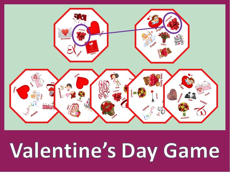Valentine's Day Dobble