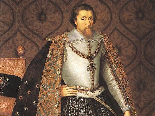 King James I, 1603 - 1625