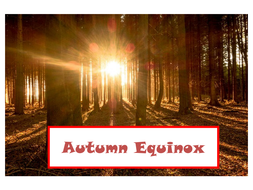 Photos about Autumn and Autumn Equinox + Creative Writing Prompt Using All 5 Senses
