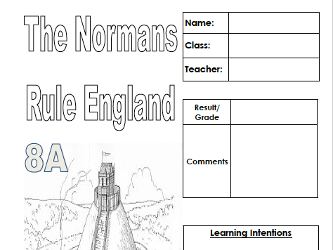 The Normans Rule England (Pupil workbook)