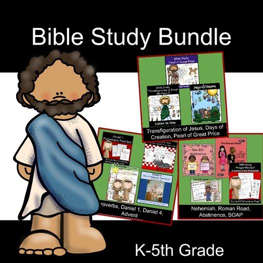 Bible Study for Kids BUNDLE #1
