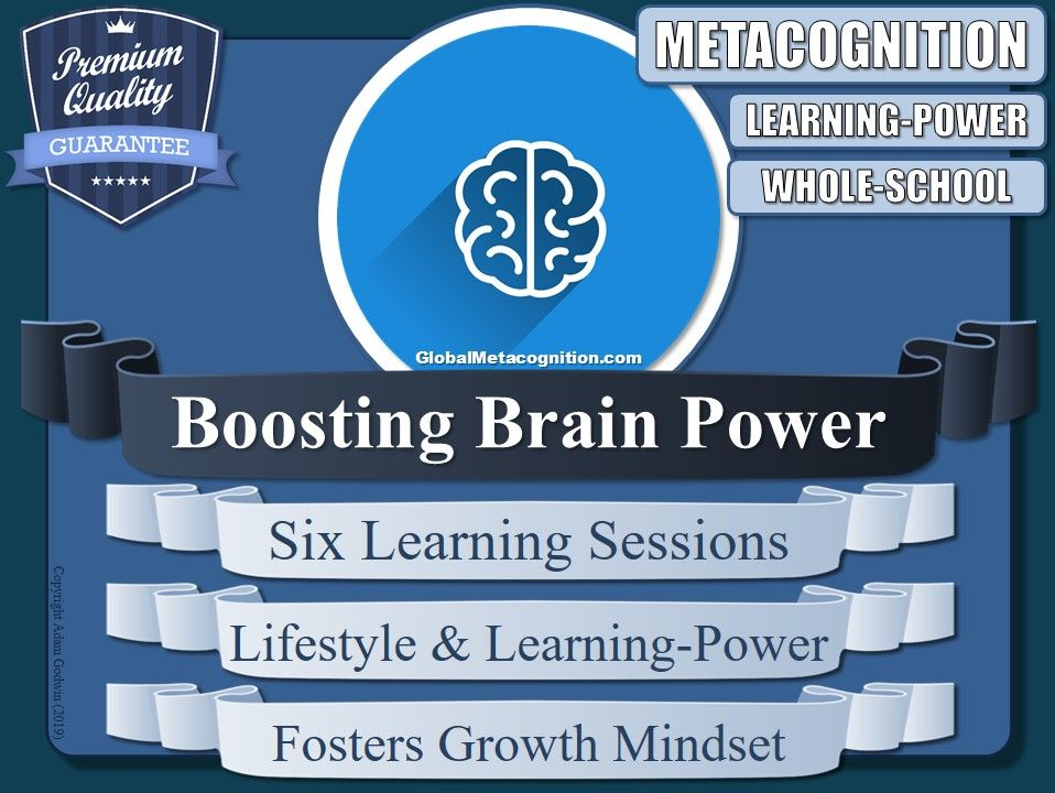 Boosting Brain Power! (Metacognition) [Metacognitive Tool - 8/20]
