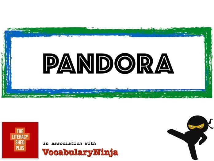 Pandora Vocabulary Pack
