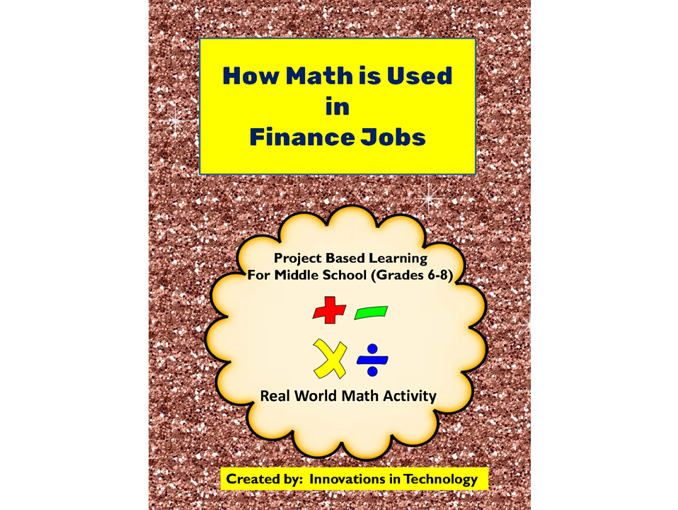 Real World Math:  How Math is Used in Finance Careers