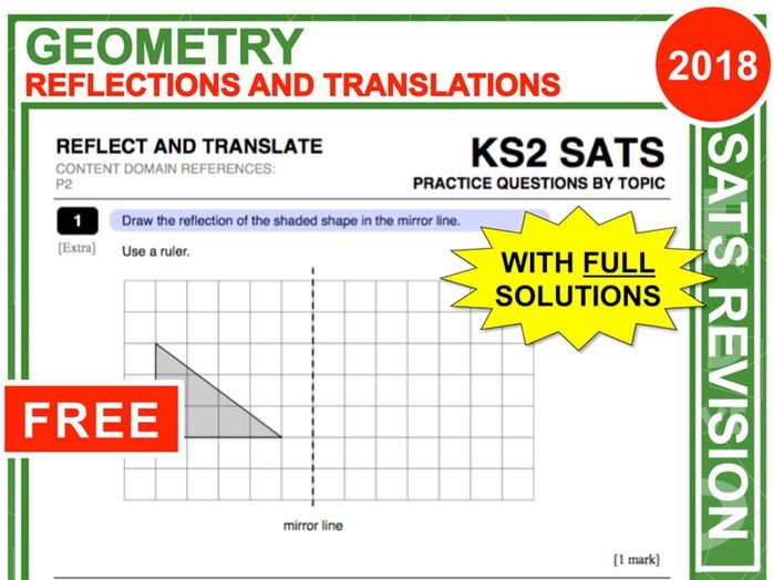 KS2 Maths (Reflections + Translations)