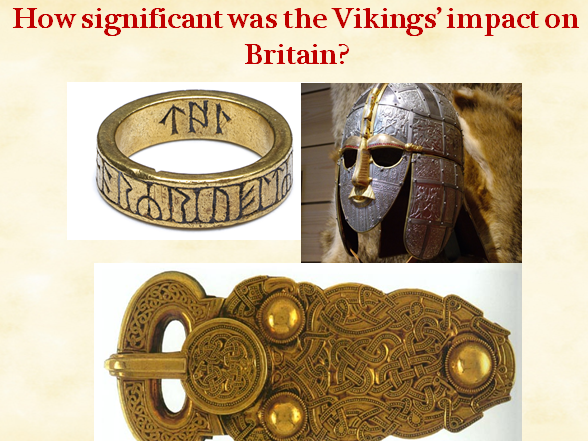 How significant was the Vikings' impact on Britain?