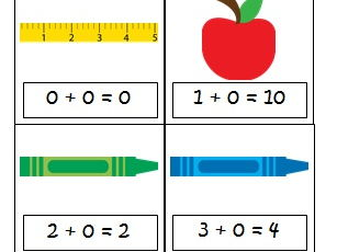 True or False Equations: School Themed