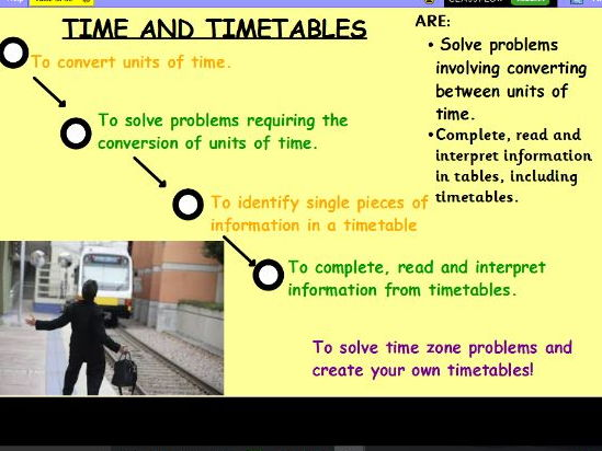 Year 5 Time Problems and Timetables with reasoning x 3 and Assessment
