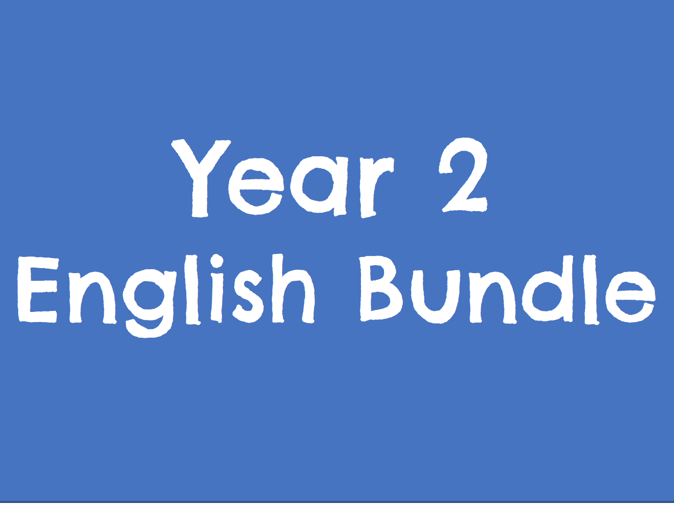 Year 2 English Bundle