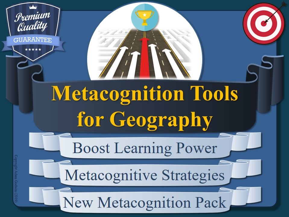 Metacognition Resources for Geography