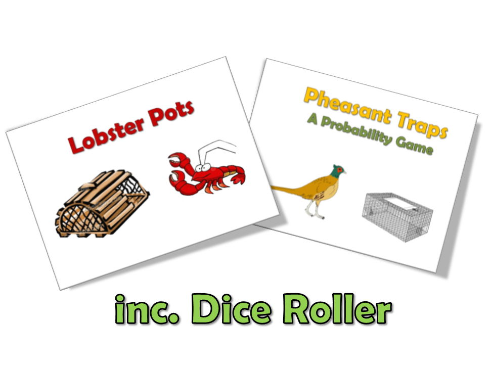 Lobster Pots & Pheasant Traps Probability Game (inc. Dice Roller)