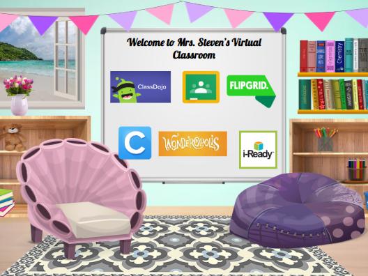 Bitmoji Virtual Classroom Template