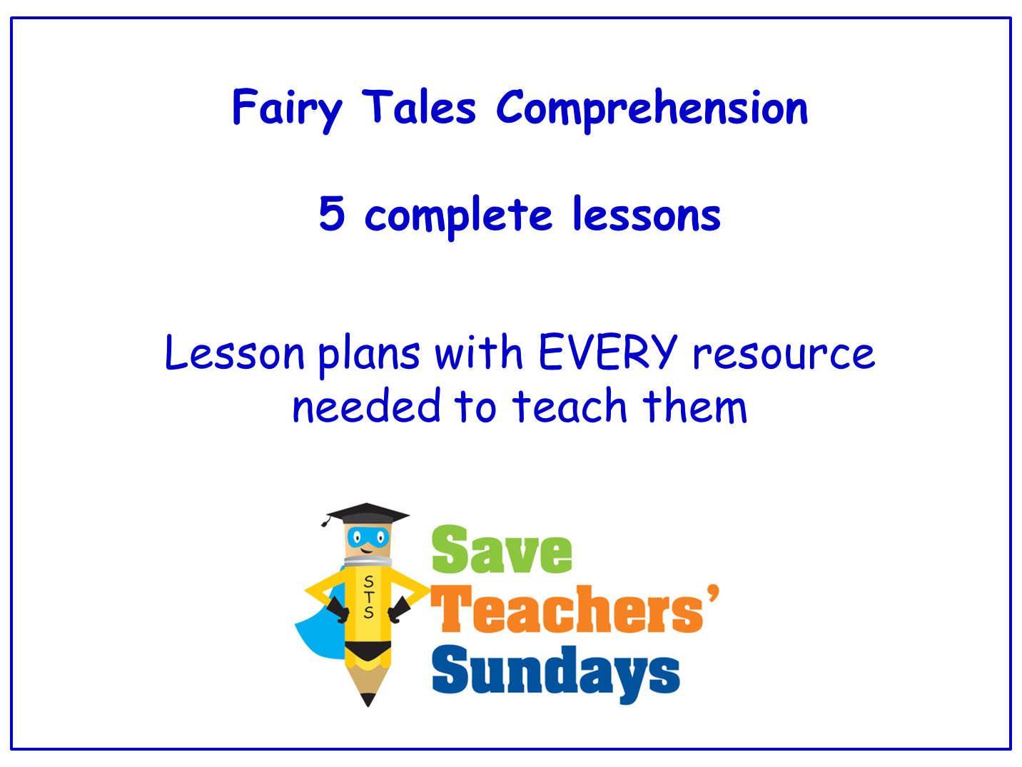 Fairy tales comprehension guided reading 4 levels of difficulty fairy tales comprehension guided reading 4 levels of difficulty 5 lessons by saveteacherssundays teaching resources tes robcynllc Image collections