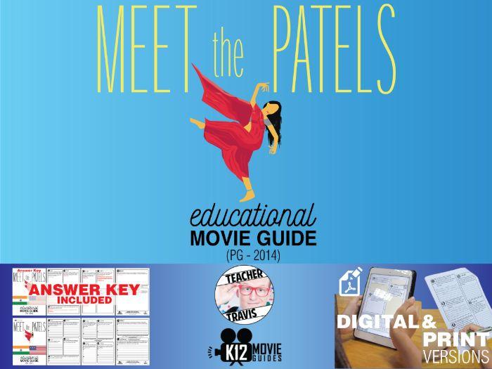 Meet the Patels Movie Guide | Questions | Worksheet (PG - 2014)