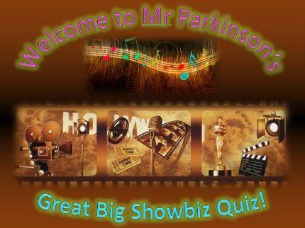 Mr Parkinson's Great Big Showbiz Quiz