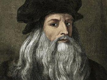 Leonardo Da Vinci Crib Sheet