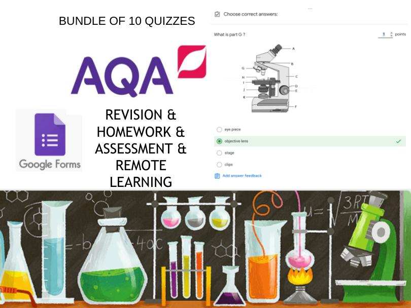 AQA Combined Science B1 Foundation Google Form