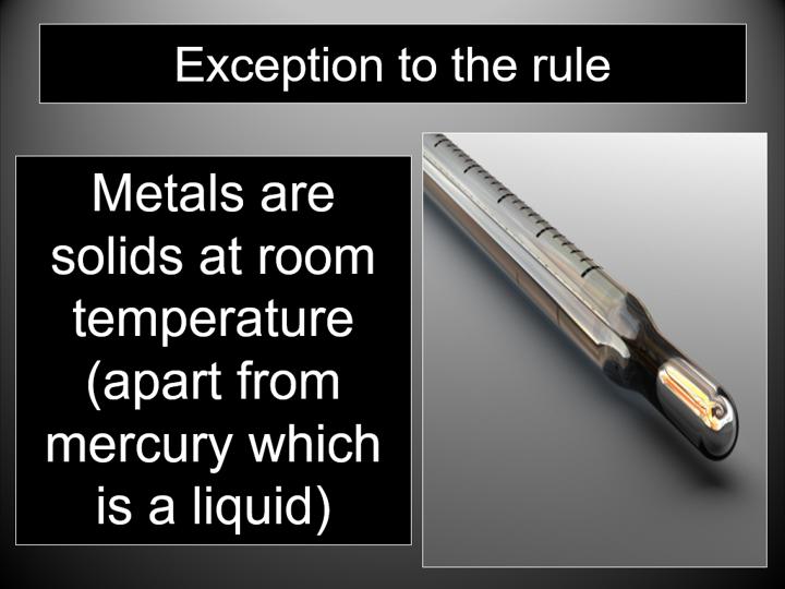 Metals & non-metals (Edexcel GCSE Chemistry & Combined Science)