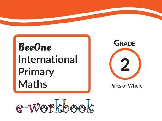 Grade 2 Fractions Workbook of 16 pages from www.Grade1to6.com Books