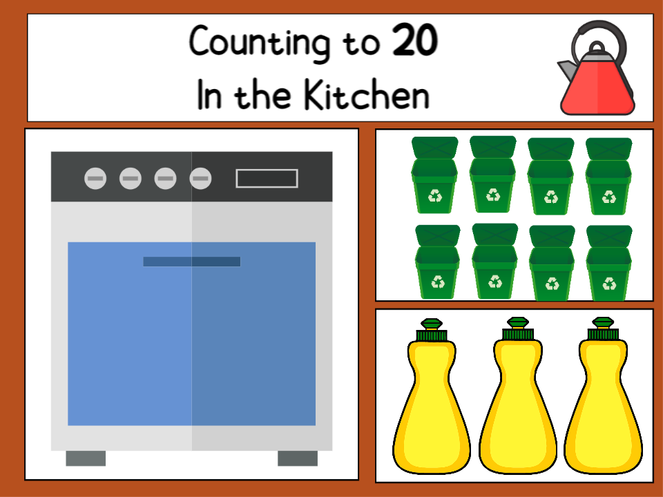 Counting to 20 in the Kitchen