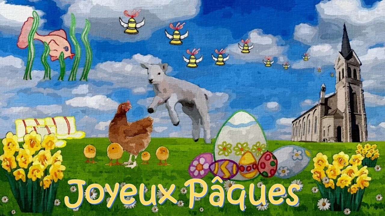 Paques Easter in France