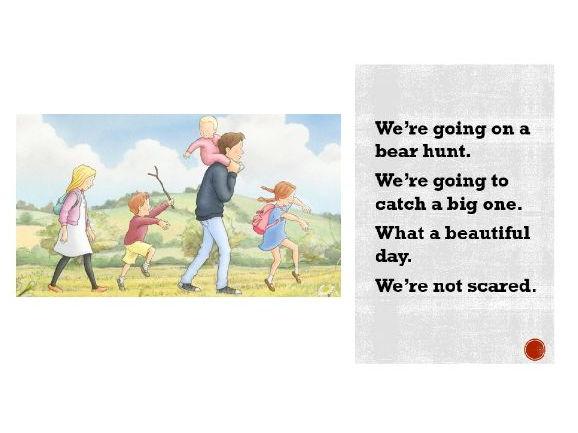 We're Going on a Bear Hunt digital copy / online version