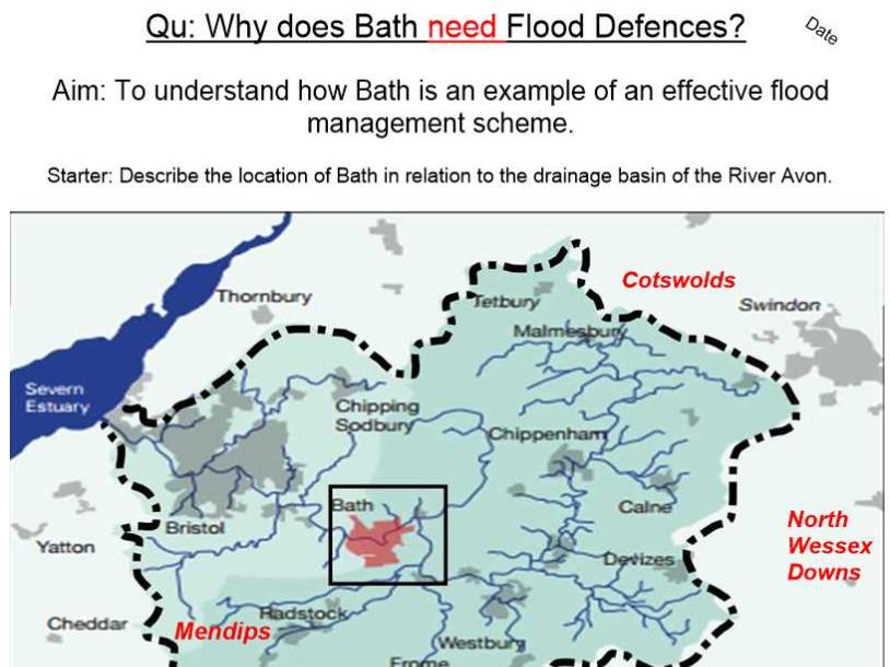 Bath Flood Defences - The Need