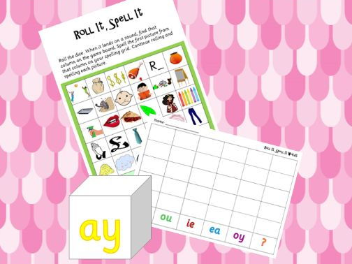 Phonics Phase 5 Roll It Spell It