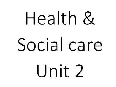Health and Social Care Level 3 Unit 2 Equality, diversity and rights Cambridge Technical