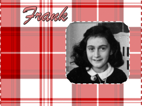Anne Frank Project Book