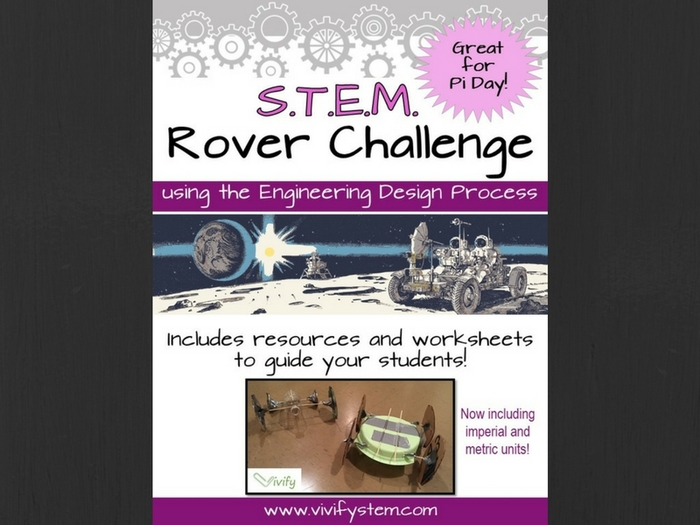 STEM Space Rover Challenge (Great for Pi Day)