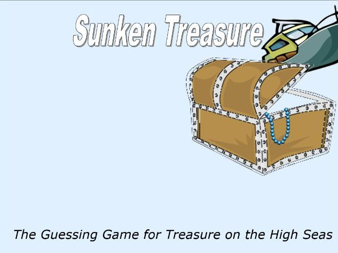 Numbers 1-36 - Find the Treasure Game - Grade Pre-K - PowerPoint Fun