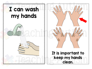 Washing Hands Social Story