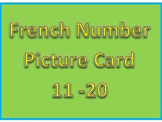 French Number 11 -20