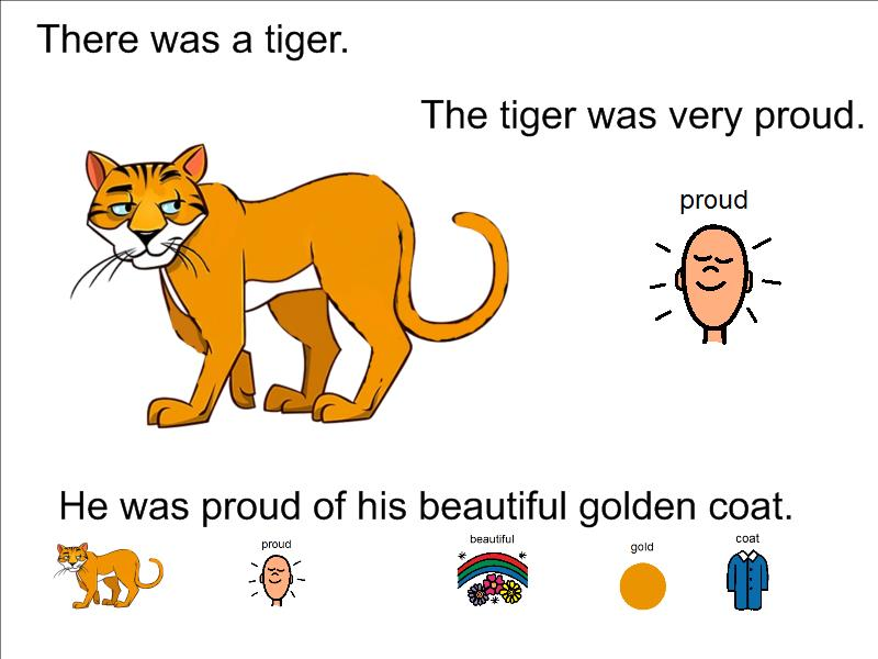 How the Tiger got his stripes: Story and activities