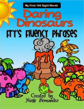 Daring Dinosaurs! Fry's First 100 Words and Phrases - Resource Pack