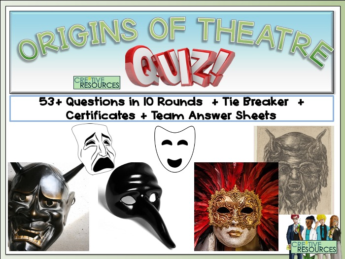 Origins and history of theatre