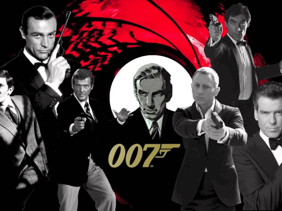 James Bond BUNDLE - media language, media industry and representations