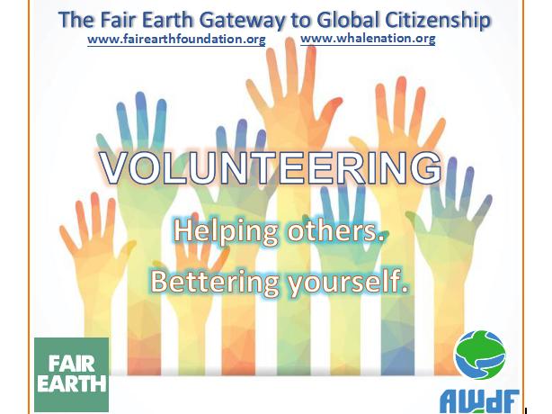 Volunteering : Fair Earth Resources