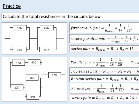 A level Physics (13.2) More about resistance (Direct current circuits)