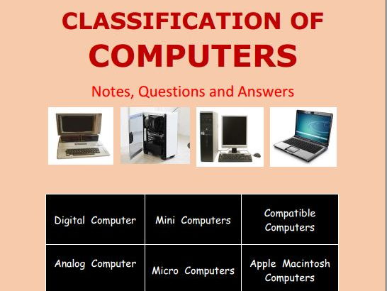 classes of computers Computer science (sometimes referred to as computing science), as its name suggests, is the scientific, practical, and theoretical approach to computation using computers.
