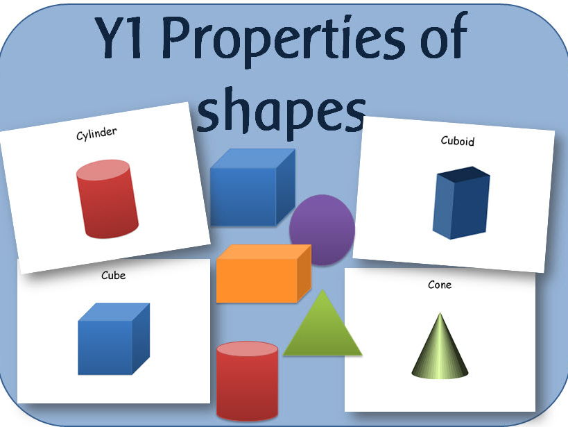 Year 1 Maths: Geometry - properties of shapes