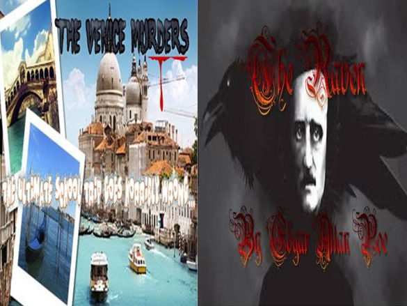 The Venice Murders and The Raven by Edgar Allan Poe (with free starters)
