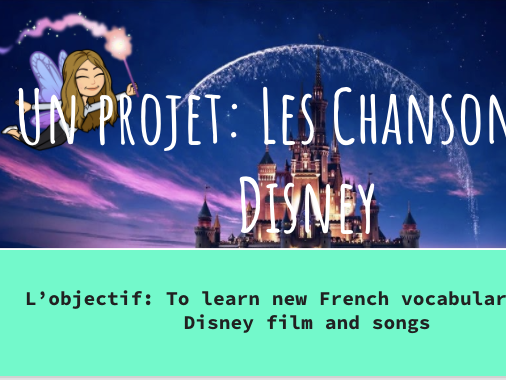 French Disney Project