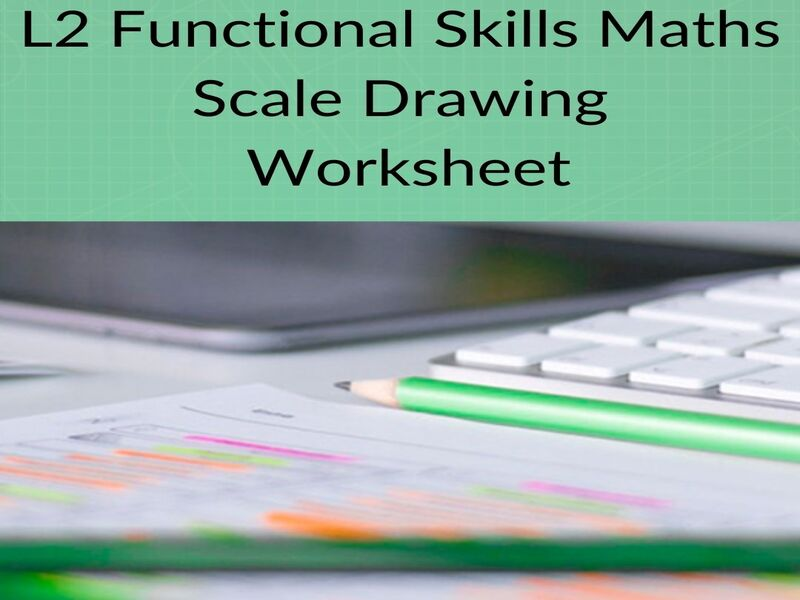 New Functional Skills Maths- L2 Scale Drawing Worksheet