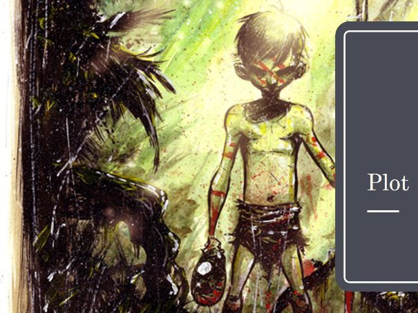Lord of the Flies GCSE Revision PowerPoint for 2017 onwards specification