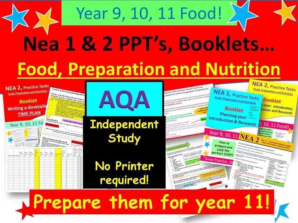 Nea 1 & 2, Food Ultimate Bundle - AQA